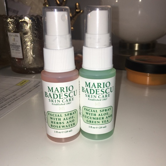 Mario Badescu Facial Spray Set Nwt